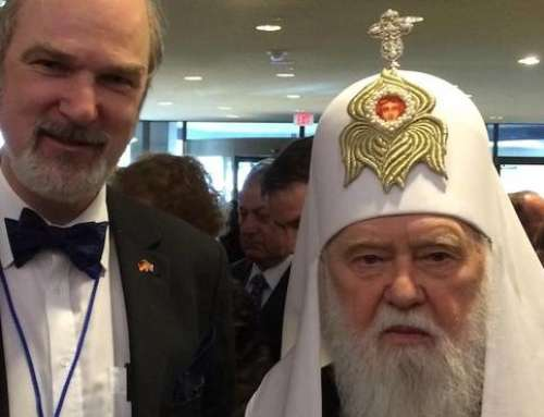 The President of ISHR meets the Patriarch of the Ukrainian Orthodox Church and the Ukrainian Minister of Education in Kiev and Washington