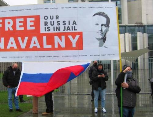 "Large demonstration ""Freedom for Alexey Navalny"""